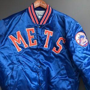 Vintage New York Mets Satin Bomber